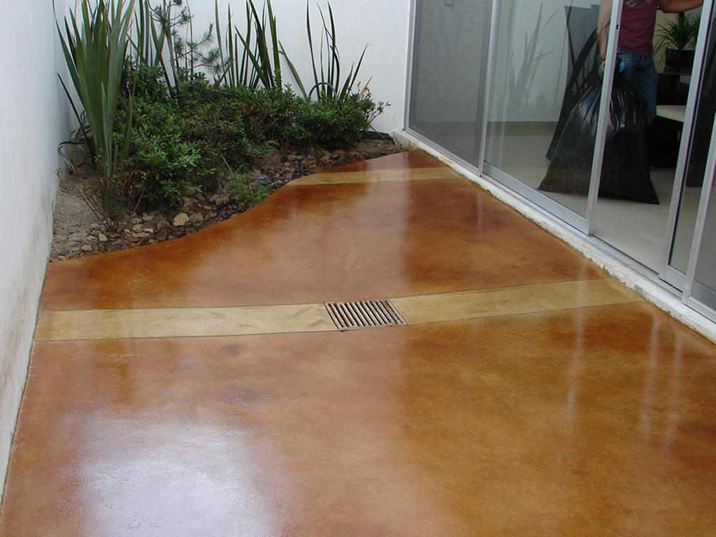 03 Acabados Pisos de Concreto Oxidado