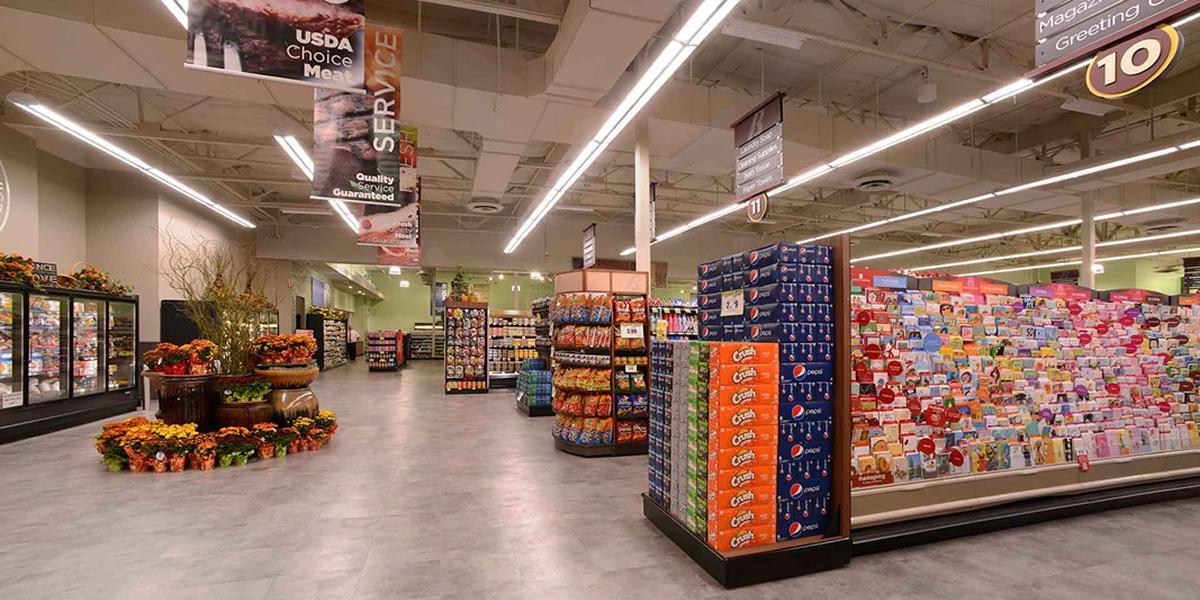 13 Instalaciones de Iluminacion Supermercado